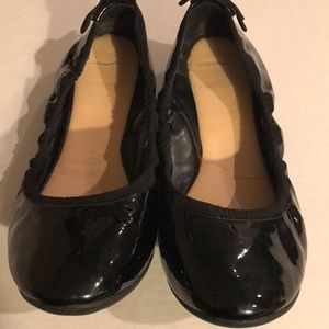 Cole Haan Black Patent Grand Ballet Flat Sz 8